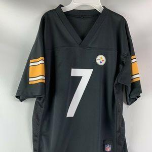 NFL Ben Roethlisberger #7 Pittsburgh Steelers BOYS